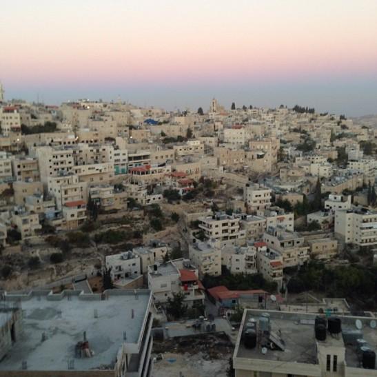 Tramonto a Betlemme