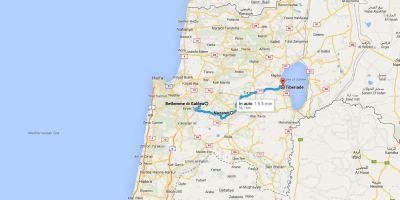 Il percorso di Alice. Da Betlemme a Nazareth, prossima tappa.