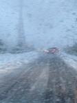 Viaggio in Palestina - Automobili abbandonate in mezzo alla neve